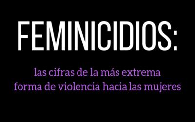Informe sobre feminicidios: datos relevantes