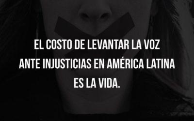 El costo de levantar la voz ante injusticias