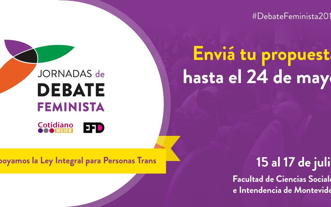 VI Jornadas de Debate Feminista