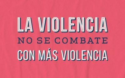 """""""La violencia no se combate con más violencia"""": entrevista a Andrea Tuana"""